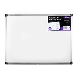 Whiteboard Magnetic Aluminium Frame 600x450mm