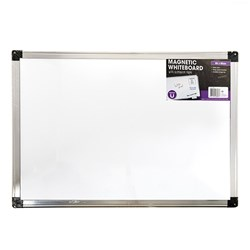 Whiteboard Magnetic Aluminium Frame 900x600mm