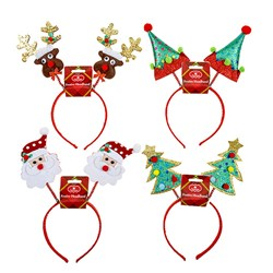 Headband Novelty Xmas Bopper 4 Asstd