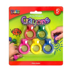 Crayon Ring Shaped 5pk