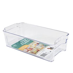Organiser Pantry Bin PS Clear Small 31.3x15.6x8.8cm