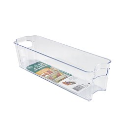 Organiser Pantry Bin PS Clear Narrow 10.7x37x9.7cm