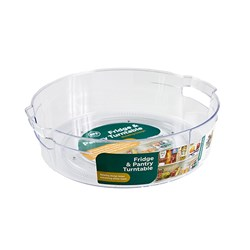 Organiser Pantry Turntable Round PS Clear 27.8 x 7.5cm