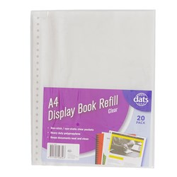 Display Book Refill A4 20pk