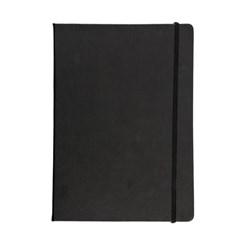 Address Book PU Cover W/Elastic A4 Black