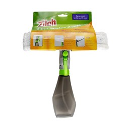 Window Squeegee Wiper w Spray 26x27x7cm