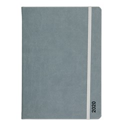 Diary A5 WTV PU Grey P8.6 FSC Mix 70%