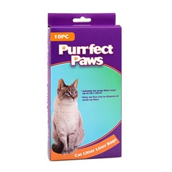Cat Litter Tray Liner Bags XL Pk10