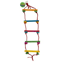 Bird Toy Rope Ladder Swing 60x15cm