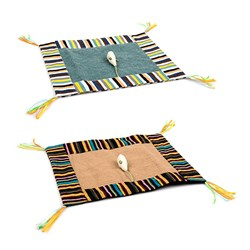 Cat Play Mat Crinkle w Mouse Toy 45x35cm