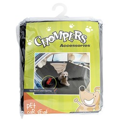 Pet Car Seat Protector w Seat Belt Holes 142x145cm