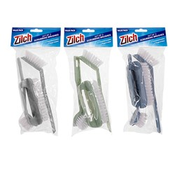 Dishwashing & Scrubber Brush 3 Pc Set 3 Asstd Cols