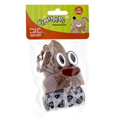 Dog Emoji Poop Waste Bag Dispenser w 20 Bags