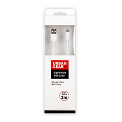 Lightning USB Cable 3m White