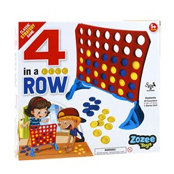 Games 4 in a Row Board Game