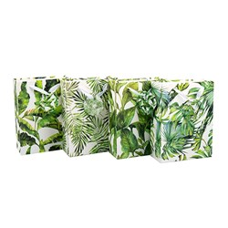 Gift Bag 210gsm Botanical w Jhook Medium