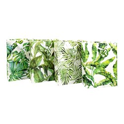 Gift Bag 210gsm Botanical w Jhook Large