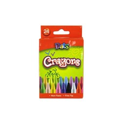 Crayon 24pk in Col Box