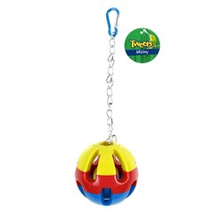 Bird Toy Hanging Plastic Ball