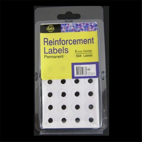 Label Reinforcement White Pk544