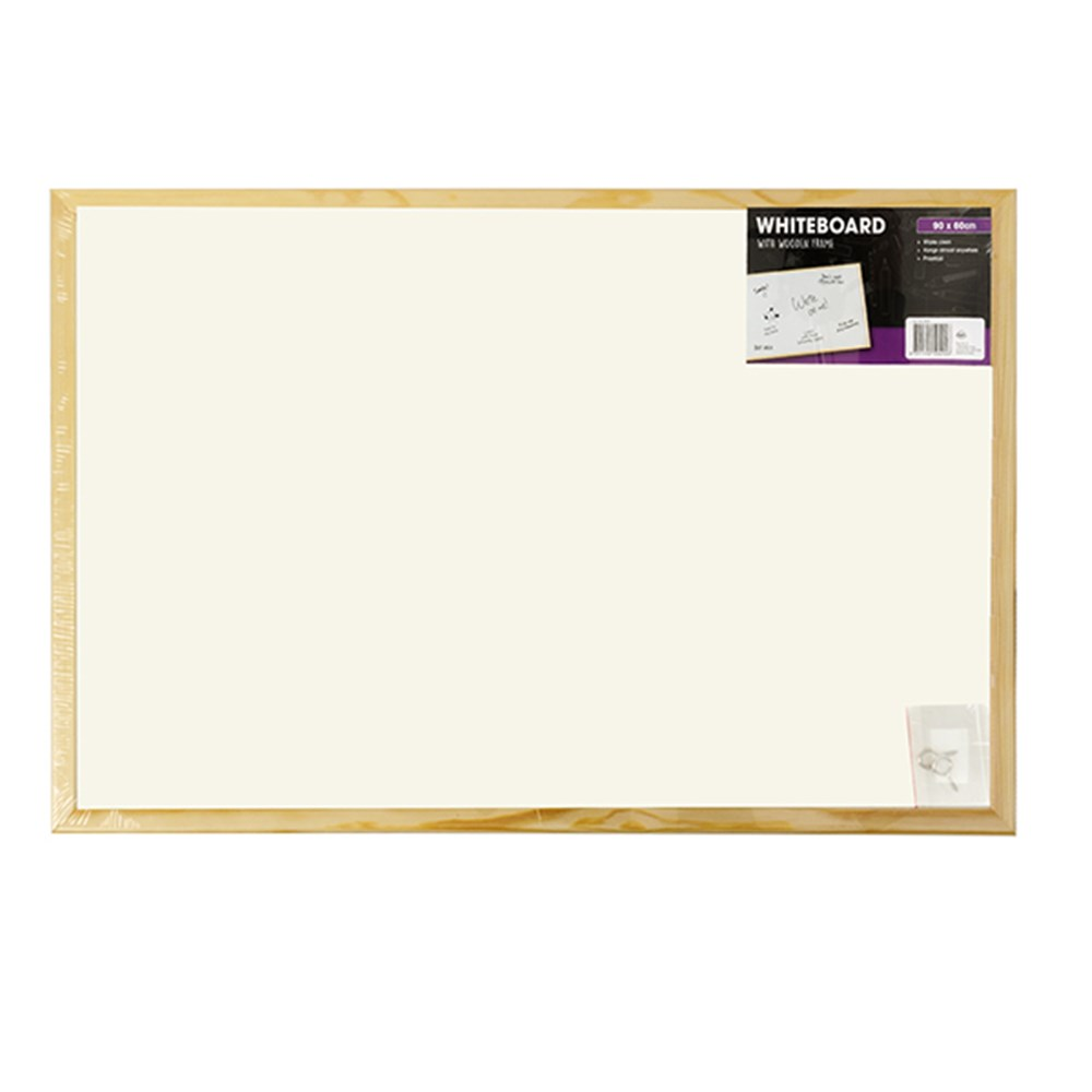 50492 - Whiteboard Wooden Frame 60x90cm - Dats